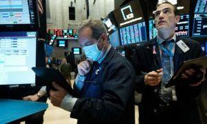 Nhà đầu tư chờ đợi kế hoạch kích thích kinh tế mới, Phố Wall giao dịch trong sắc đỏ