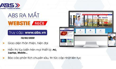 ABS ra mắt Website mới